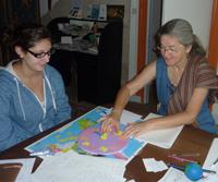 apprendre le français chez claudine à montbard cote d'or bourgogne france