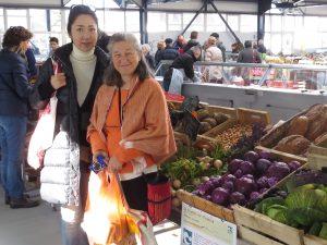 Ayami au marché de Montbard