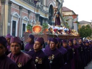 Procession à Xela