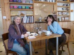 Manami au salon de thé Arthémiss, Montbard